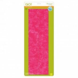 """Accuquilt GO! Strip Cutter - 3-1/2"""" Die (3"""" Finished) - features 2 strips"""