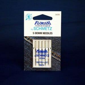 Floriani Chrome Denim Needles Size 90/14 (9428)
