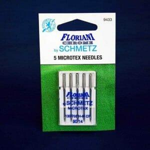 Floriani Chrome Microtex Needles Size 90/14 (9433)