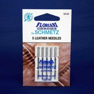 Floriani Chrome Leather Needles Size 100/16 (9449)