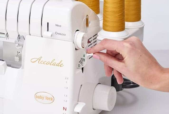 Baby Lock Accolade Serger - Automatic Thread Delivery System