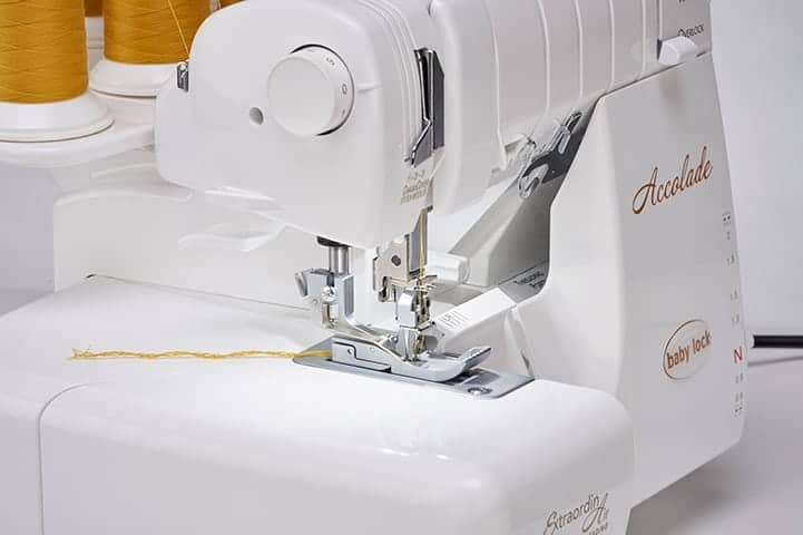 Baby Lock Accolade Serger - Cover Stitch Chaining Off