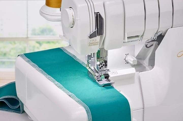 Baby Lock Accolade Serger - Fabric Support System