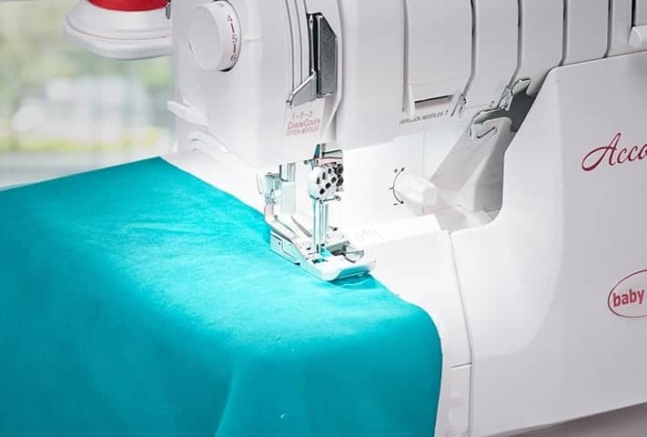Baby Lock Accolade Serger - Pure Lighting with 3 LED Lights
