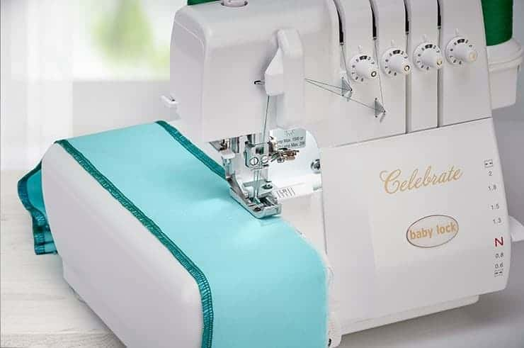 Baby Lock Celebrate Serger - Fabric Support