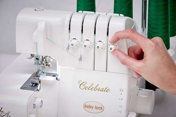 Baby Lock Celebrate Serger - Micro Tension Adjustments