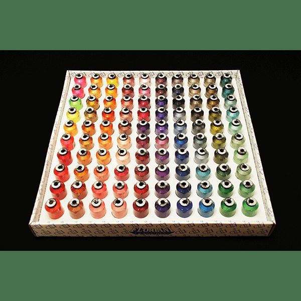 Floriani 100 Spool Embroidery Thread Set 3 - 1000m (F100TS3)