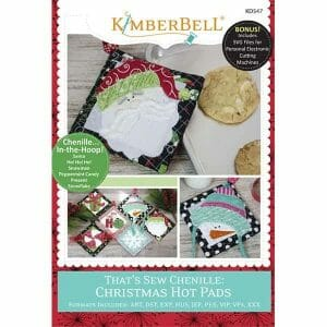 Kimberbell Designs That's Sew Chenille; Christmas Hot Pads