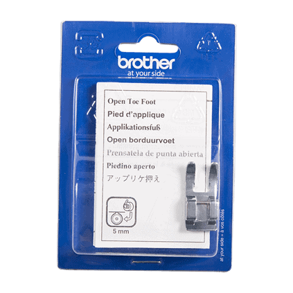 Brother Open Toe Foot, 5mm
