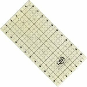 """Quilter's Select Non Slip Quilting Ruler - 6"""" x 12"""""""