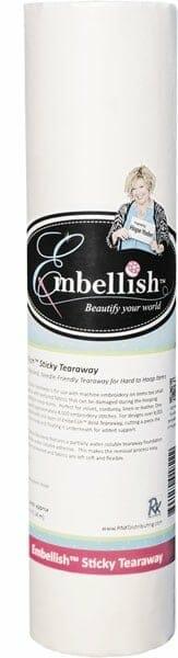 """Embellish Sticky Tearaway 20"""" x 10 yd"""