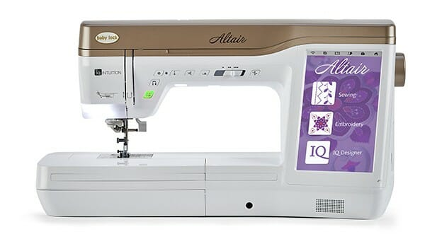 Baby Lock Altair Sewing & Embroidery Machine