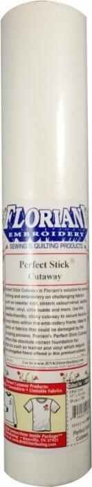 "Floriani Perfect Stick Pressure-Sensitive Cutaway - 15"" x 10 yard (FPSC1510)"