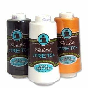 Maxi Lock Stretch Serger Thread 2000 Yard Cone