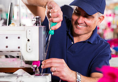 Our factory-trained, full time, local technicians service all makes and models of machines.